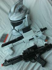 Star Wars Lot Storm Trooper Stormtrooper Helmet Blaster gun Rogue One Force