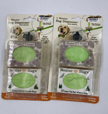 Neater Bag Dispenser With Refills For Leashes- Open Box 2 Pack 1NEA