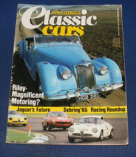 THOROUGHBRED & CLASSIC CARS MAGAZINE SEPTEMBER 1984 - CLASSIC RILEYS