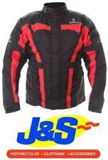 Blousons rouge ajustable pour motocyclette Homme