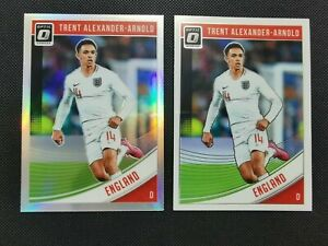 2018-19 Panini Donruss Optic Holo + Optic 2 Card :Trent Alexander-Arnold ROOKIE