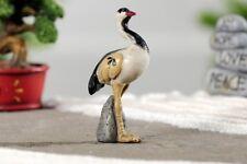 Miniature Dollhouse FAIRY GARDEN - Zen Bird - Accessories