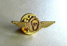 German Germany Army Airborne Jump Parachutist Paratrooper Lapel Pin Wing Golden