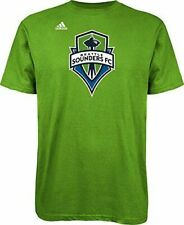 SEATTLE SOUNDERS MLS ADIDAS RAVE GREEN SHORT SLEEVE MEN'S TEE 2XL