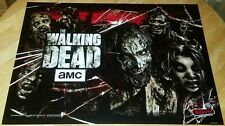 Stern The Walking Dead Pro Pinball Machine Translite 830-52F8-00 NOS! Free Ship!
