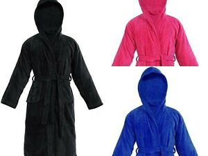 100% Pure Cotton Kids Bathrobe For Boys And Girls