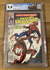 Amazing Spider-Man #361 CGC 9.8 Newsstand 04/92 - White Pages