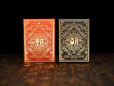 Chao Dynasties of China Playing Cards Rare Limited 2 Poker Decks not Bicycle  :