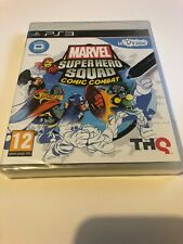 🤩 playstation 3 neuf blister pal fr ps3 marvel super hero squad comic combat ud