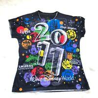 Walt Disney World 2011 Graphic T-Shirt Women's Size XXL 2XL