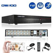 16CH HD CCTV Surveillance Video Mobile Network P2P Cloud H.264 DVR EU E6Q9