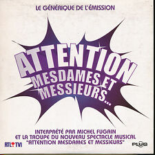 MICHEL FUGAIN CD SINGLE UE ATTENTION MESDAMES... (2)