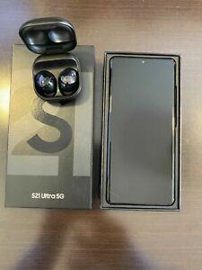 Samsung Galaxy S21 Ultra 5G - 512GB -Phantom Black (Unlocked) (CA)