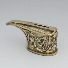 Cool Brass Knife Finger Guard Knives Making Custom Handles Bolster