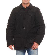 Cappotti e giacche da uomo neri Napapijri con cerniera