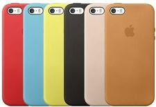 OEM Genuine Apple Leather Slim Hard Case For iPhone 5, iPhone 5S, iPhone SE