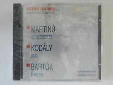 CD Haftner Trio Wien Martinu Kodaly Bartok Klaviertrios Kammermusik