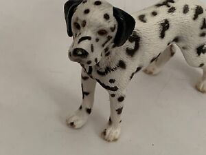 Schleich Dog DALMATIAN MALE Animal Dog Figure 2006 Retired 16346