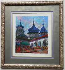 """Anatole Krasnyansky """"Old Towers of Rostov"""" Limited Edition Serigraph Hand Signed"""