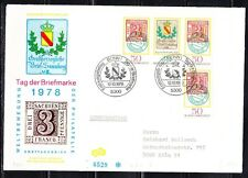 Germany 1978 Ersttag FDC cover Stamp Day and German Philatelists' Meeting 980-81
