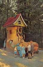 Ligonier Pennsylvania Story Book Forest Old Lady In Show Vintage Postcard K56683