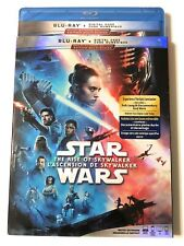 Star Wars The Rise of Skywalker Blu-ray + Digital With Slipcover REGION FREE NEW