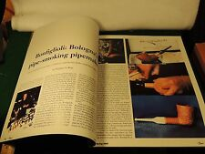 ALBERTO BONFIGLIOLI STORY & MEERSCHAUM COLORING PIPE ARTICLE & P&T 2003 Mr-Tvf