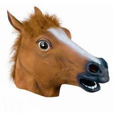 Horse Head Mask Latex Animal Costume Prop Gangnam Style For Halloween Festival