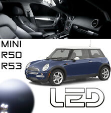 MINI R50 R53  Cooper S One Works Pack 15 Ampoules LED Blanc Coffre Plafonnier