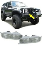 JEEP CHEROKEE XJ 1997- 2001 CLEAR FRONT INDICATORS LIGHTS CHRISTMAS GIFT