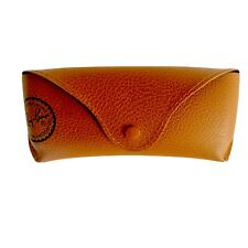 Unisex Ray Ban eyeglasses sunglasses tan only case. New!!!