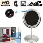 Mini Mirror Motion Detection Spy Video Camera Hidden DVR Cam Camcorder Silver GA