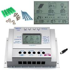 60A MPPT Solar Panel Charge Control 12V 24V Battery Regulator +10pcs Screw US M