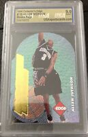 1996 Collector's Edge Rookie Rage Allen Iverson 76ers RC.  Graded 9 Mint