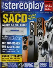 Stereoplay 6/03 Cabasse Caprera, Dynaudio Contour S 3.4, KEF Q5, Marantz SR 9300