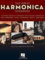 HARMONICA SONGBOOK Sheet Music Book Diatonic Mouth Organ Pop Chart Film Rock
