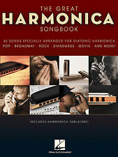 HARMONICA SONGBOOK Sheet Music Book Diatonic Mouth Organ Pop Chart Film Rock