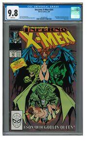 Uncanny X-Men #241 (1989) Chris Claremont Goblin Queen CGC 9.8 JZ072