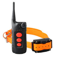 Aetertek AT-918C 550M Remote Waterproof Dog Training Shock Collar Auto Anti Bark