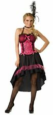 ADULTS WOMENS PLUS SIZE WESTERN CAN CAN SALOON GAL COSTUME - 24/26