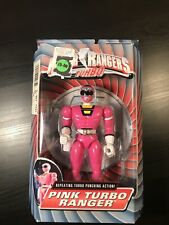 "Power Rangers Turbo 8"" Pink TURBO RANGER New Factory Sealed 1997 Bandai"