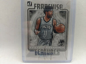 2020-21 Panini Donruss Basketball Kyrie Irving #3 Franchise Features Insert Card