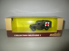 AMBULANCE DODGE WC 54 COLLECTION MILITARE I N°6043 SOLIDO SCALA 1:43