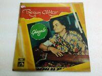 BEGUM AKHTAR KHAYYAM GHAZALS 1971 RARE LP RECORD vinyl india hindi GHAZAL VG++