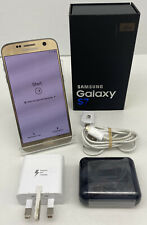 *VGC* Samsung Galaxy S7 SM-G930F 32GB (EE) Gold Boxed Smartphone | FAST SHIPPING