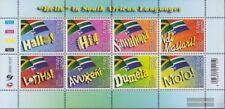 Südafrika 1675-1682 Kleinbogen (kompl.Ausg.) postfrisch 2005 Weltposttag