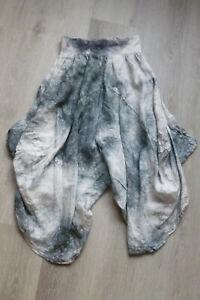 ITALY Hose,Pumphose,Haremhose,Übergröße,moderne Batik Muster,Gr.48,50,52,54,Neu