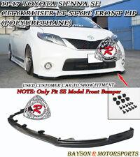 CityKruiser LT-Style Front Lip (Urethane) Fits 11-17 Toyota Sienna [SE Model]
