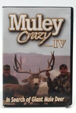 Muley Crazy Volume IV - In Search Of Giant Mule Deer (DVD) Very Good
