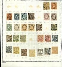 Turkey Album Page Of Stamps #V14156
